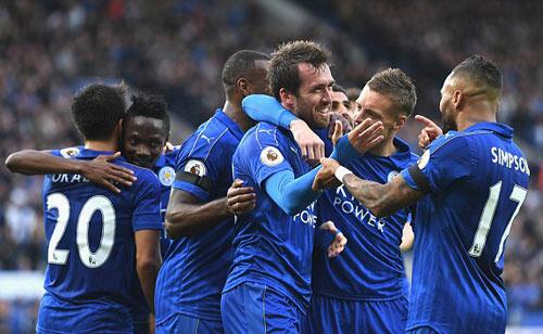 """Leicester City - C.Palace: 3 cú """"nã đạn"""" hoàn hảo"""