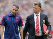 Bóng đá - MU: Giggs phải nghỉ hưu sớm vì Van Gaal