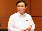Tài chính - Bất động sản - PTT Vương Đình Huệ: Dứt khoát không nới trần nợ công