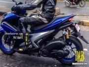 Thế giới xe - Lộ ảnh Yamaha NVX 150 không ngụy trang chạy thử