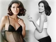 Thời trang - Mỹ nhân Vbiz diện bikini quá đỗi gợi cảm lúc bầu bí