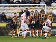 """Bóng đá - Hull City - Stoke City: """"Messi Thụy Sỹ"""" & 2 siêu phẩm"""