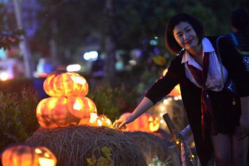 """Ngắm """"làng bí thần tiên"""" ở Sài Gòn - 17"""