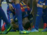Bóng đá - Barca: Messi ghi bàn thắng 3-2, Neymar hứng vật thể lạ