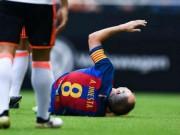 Bóng đá - Barca: Enrique xót xa vì Iniesta nghỉ 8 tuần