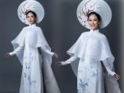 """Thời trang - Chi tiết """"độc lạ"""" trên quốc phục VN ở Hoa hậu quốc tế 2016"""