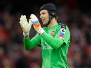 Bóng đá - Arsenal: 34 tuổi, Cech vẫn hay nhất Premier League