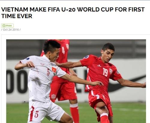 """Thế giới """"ngả mũ"""" trước kỳ tích World Cup của U19 VN"""