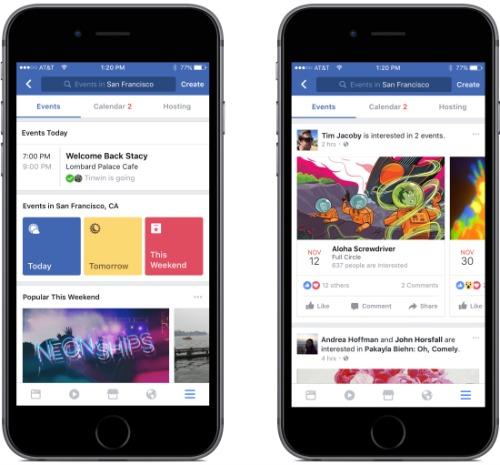 Facebook cập nhật hàng loạt chức năng mới trên iOS - 2