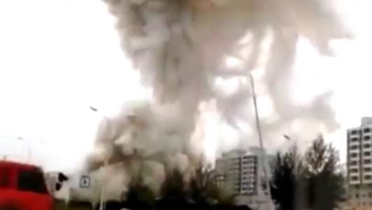 TQ: Nổ kinh hoàng khiến 7 người chết, 95 người bị thương