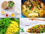 Ẩm thực - Thực đơn các món ngon thanh mát cho bữa cơm đầu tuần