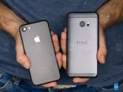 Dế sắp ra lò - HTC 10 đọ sức iPhone 7: Thiết kế đẹp, nhưng kém hiệu suất