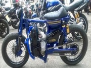 Xe máy - Xe đạp - Honda Cub độ độc nhất thế giới khoe âm thanh siêu khủng