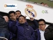 Bóng đá - Cầu thủ phong trào Việt Nam làm khách VIP ở Real Madrid