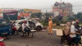 HN: Tàu hỏa tông ô tô, 4 người chết, 3 người nguy kịch