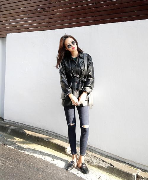 Phong cách quần jean đậm chất trẻ trung cho các cô gái