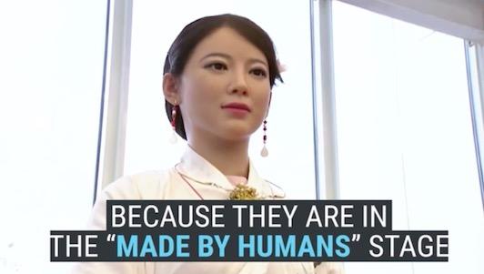 """""""Nàng"""" robot cực xinh đẹp hiểu tiếng người"""
