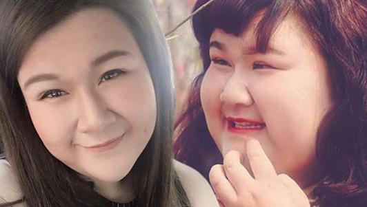 Chia sẻ bất ngờ của nữ diễn viên nặng 130kg sau khi giảm cân