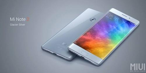 Xiaomi Mi Note 2 màn hình cong, chipset SD 821 - 1