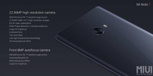 Xiaomi Mi Note 2 màn hình cong, chipset SD 821 - 4