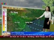 Tin tức trong ngày - Dự báo thời tiết VTV 25/10: Mưa rào rải rác khắp 3 miền