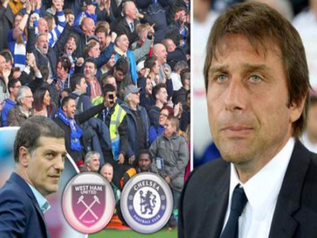 TRỰC TIẾP West Ham - Chelsea: 'Bay' nữa cùng Conte