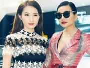 """Thời trang - Hoa hậu Thu Thảo quyết """"đọ sắc"""" Thanh Hằng tại sự kiện"""