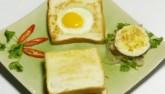 Biến tấu với bánh mì sandwich trứng và thịt bò