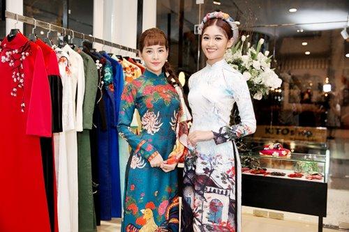 Dàn mỹ nhân Việt 'đẹp quên lối về' với áo dài cách tân - 3