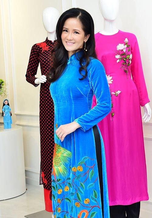 Dàn mỹ nhân Việt 'đẹp quên lối về' với áo dài cách tân - 12