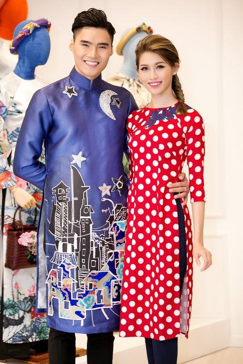 Dàn mỹ nhân Việt 'đẹp quên lối về' với áo dài cách tân - 13