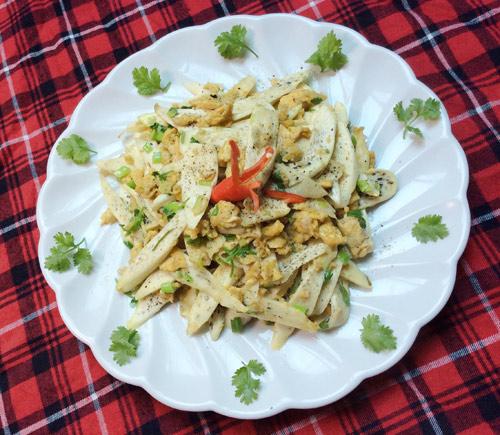 5 món trứng gà xào rau củ ngon miệng dễ làm - 4