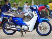 Thế giới xe - Hút hồn xế độ Honda Super Cub 110 xanh dương