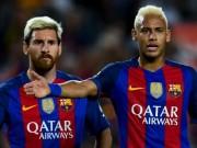 """Bóng đá Tây Ban Nha - Barca: Neymar có thể """"gánh team"""" như Messi?"""