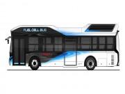 Tin tức ô tô - Toyota Fuel Cell Bus sẽ trình làng năm 2017
