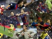 """Bóng đá - Siêu phẩm số 1 Barca: Rô """"béo"""" đấu Ronaldinho, Messi"""