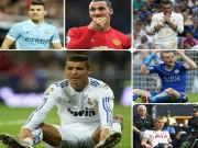 """Bóng đá - 7 siêu tiền đạo đang """"mất tích"""": Có Ronaldo, Vardy"""