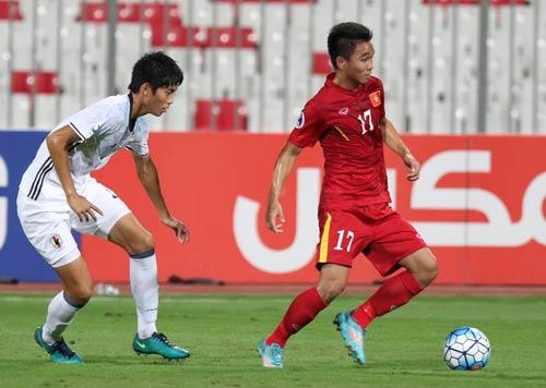 Khoảnh khắc U19 VN – U19 Nhật Bản: Chiến đấu hết mình