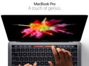 Thời trang Hi-tech - Apple trình làng tuyệt phẩm Macbook Pro mới với Touch Bar