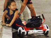 Tin tức trong ngày - Bé gái ngã chảy máu đầu vì đi xe tự cân bằng ở phố đi bộ Hà Nội