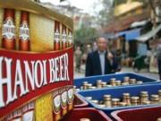 Cổ phiếu bia Hà Nội  dậy sóng  trong ngày lên sàn