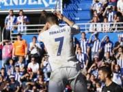"""Bóng đá - Ronaldo """"giải khát"""" bằng tuyệt phẩm sút xa"""