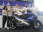 Thế giới xe - Yamaha NVX 2017 ra mắt ở Malaysia giá 46,5 triệu đồng