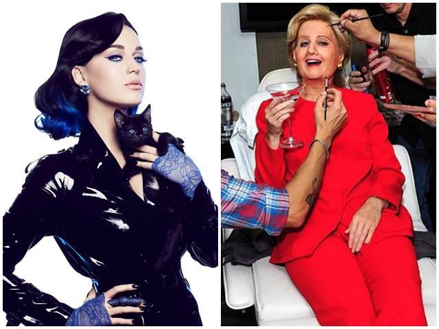 Nghệ sĩ nào hóa thân Hillary Clinton trong lễ hội ma quỷ?