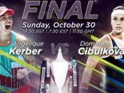 Thể thao - Kerber – Cibulkova: Lần đầu tiên ngọt ngào (CK WTA Finals)