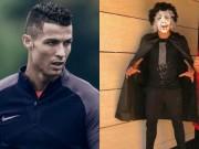 """Bóng đá - Ronaldo, Mayweather hóa trang """"cực dị"""" mừng Halloween"""