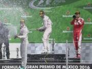 Thể thao - F1 – Mexican GP: Còn nước còn tát