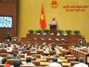 Tài chính - Bất động sản - Quốc hội bàn về tái cơ cấu nền kinh tế