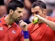 """Thể thao - Paris Masters ngày 1: Djokovic đánh cặp """"ông già"""" U40"""