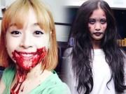 Thời trang - Sao Việt hóa trang Halloween rùng rợn dọa fan đứng tim